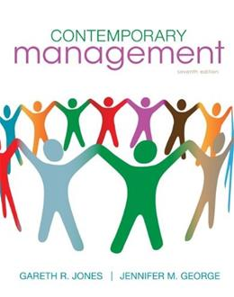 Contemporary Management, by Jones, 7th Edition 9780078112690