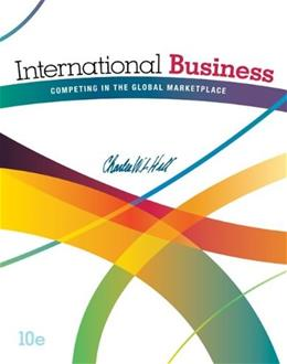 International Business: Competing in the Global Marketplace 10 9780078112775