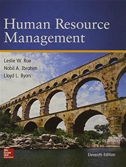 Human Resource Management 11 9780078112799