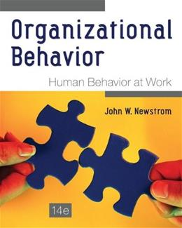 Organizational Behavior: Human Behavior at Work 14 9780078112829