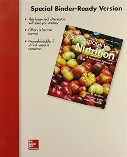 Contemporary Nutrition: A Functional Approach, by Wardlaw, 4th Edition 9780078124464