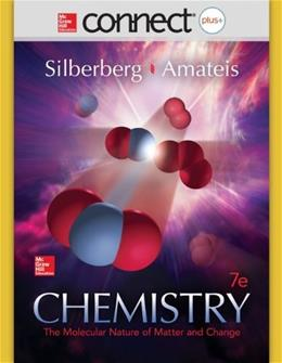 Connect 2-Year Access Card for Chemistry: The Molecular Nature of Matter and Change 7 PKG 9780078129865