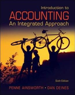 Introduction to Accounting: An Integrated Approach 6 9780078136603
