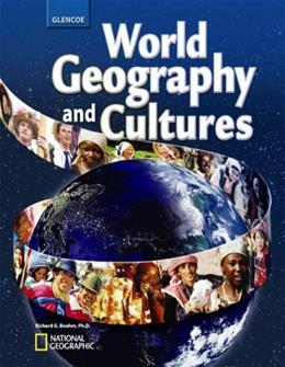 World Geography and Cultures, by Boehm, Grades 7-10 9780078745294