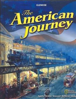 American Journey, by Appleby, Grades 6-8 9780078777127