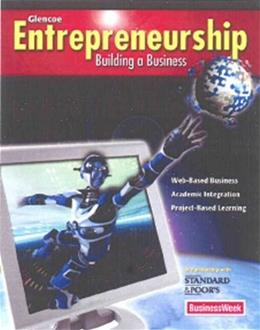 Glencoe Entrepreneurship and Small Business Management, by Allen, 4th Edition 9780078897665