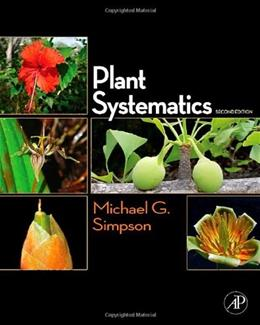 Plant Systematics, by Simpson, 2nd Edition 9780123743800