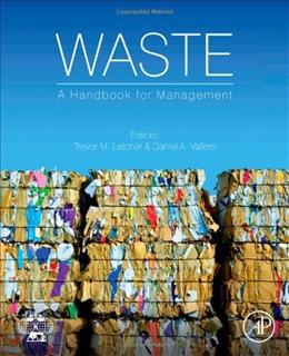 Handbook of Waste Management and Recycling, by Letcher 9780123814753