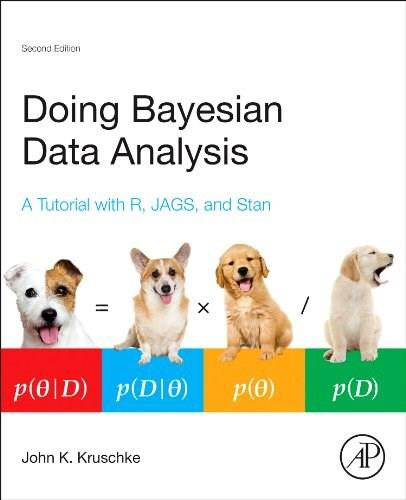 Doing Bayesian Data Analysis, Second Edition: A Tutorial with R, JAGS, and Stan, by Kruschke, 2nd Edition 9780124058880