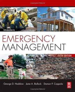 Introduction to Emergency Management, Fifth Edition 5 9780124077843