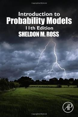 Introduction to Probability Models, Eleventh Edition 11 9780124079489