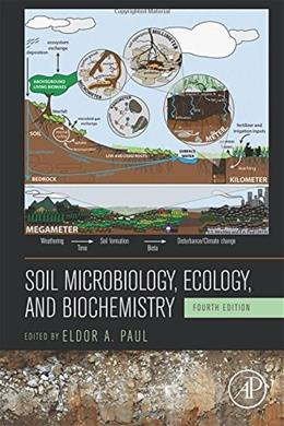 Soil Microbiology, Ecology and Biochemistry, by Paul, 4th Edition 9780124159556