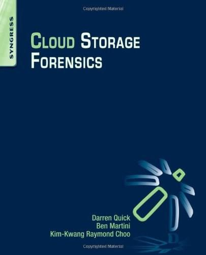 Cloud Storage Forensics, by Quick 9780124199705