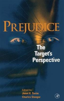 Prejudice: The Targets Perspective, by Swim 9780126791303