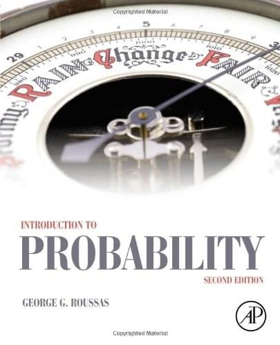 Introduction to Probability, by Roussas, 2nd Edition 9780128000410