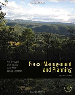 Forest Management and Planning, Second Edition 2 9780128094761