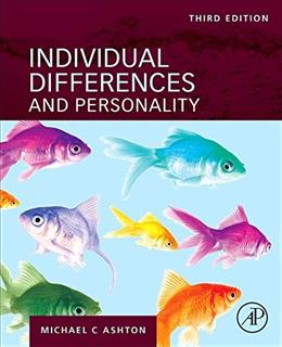 Individual Differences and Personality, Third Edition 3 9780128098455