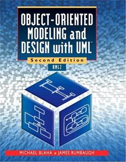 Object Oriented Modeling and Design with UML, by Blaha, 2nd Edition 9780130159205