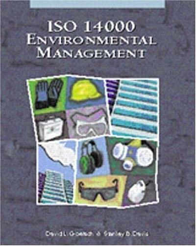 ISO 14000: Environmental Management, by Goetsch 9780130812360