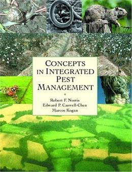 Concepts in Integrated Pest Management, by Norris 9780130870162