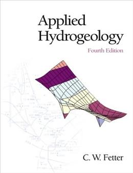 Applied Hydrogeology (4th Edition) 4 w/CD 9780130882394