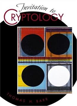 Invitation to Cryptography, by Barr 9780130889768