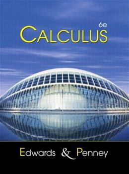 Calculus with Analytic Geometry, by Edwards, 6th Edition 6 w/CD 9780130920713