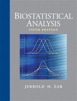 Biostatistical Analysis (5th Edition) 9780131008465