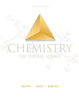 Chemistry: The Central Science, by Brown, 10th Edition 9780131096868