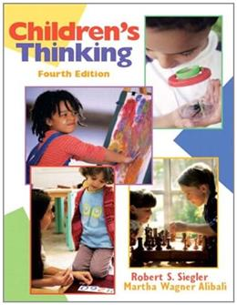 Childrens Thinking (4th Edition) 9780131113848