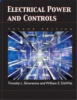Electrical Power and Controls (2nd Edition) 9780131130456