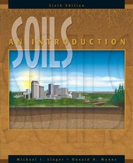 Soils: An Introduction, by Singer, 6th Edition 9780131190191