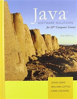 Java Software Solutions AP Comp. Science 3 9780131374690