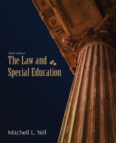 The Law and Special Education (3rd Edition) 9780131376090