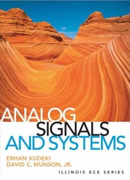 Analog Signals and Systems 1 9780131435063