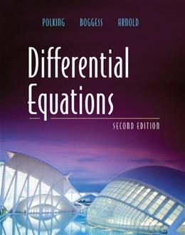 Differential Equations (2nd Edition) 9780131437388