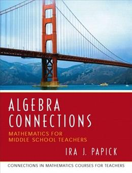 Algebra Connections, by Papick 9780131449282