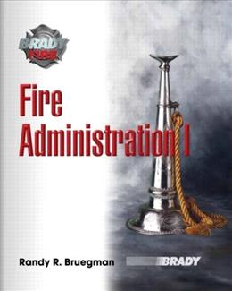 Fire Administration, by Brueg 9780131720848