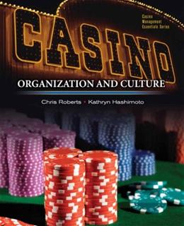 Casinos: Organization and Culture, by Hashimoto 9780131748125