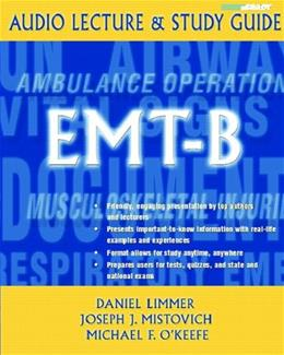 EMT-B, by Limmer, CD-ROM Only 9780131777132
