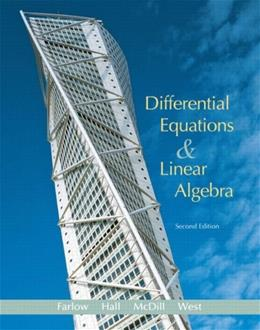 Differential Equations and Linear Algebra (2nd Edition) 9780131860612