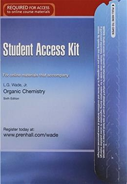 Student Access Kit: For Online Materials That Accompany Organic Chemistry, 6th Edition 9780131872479