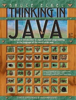 Thinking in Java, by Eckel, 4th Edition 9780131872486