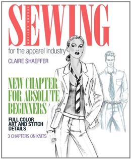 Sewing for the Apparel Industry, by Shaeffer, 2nd Edition 2 PKG 9780131884434
