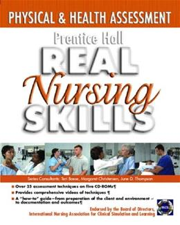 Prentice Hall Real Nursing Skills: Physical and Health Assessment, by Prentice Hall, CD-ROM SET ONLY 9780131915251