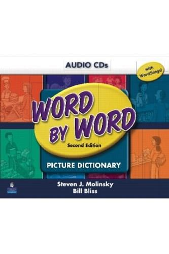 Word by Word Picture Dictionary with WordSongs Music CD Student Book Audio CDs Second 9780131916135