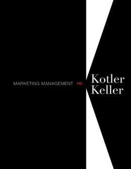 Marketing Management, by Kotler, 14th Edition 9780132102926