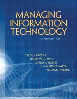 Management Information Technology 7 9780132146326