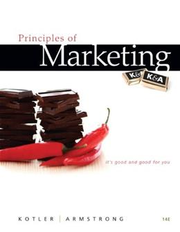 Principles of Marketing (14th Edition) 9780132167123