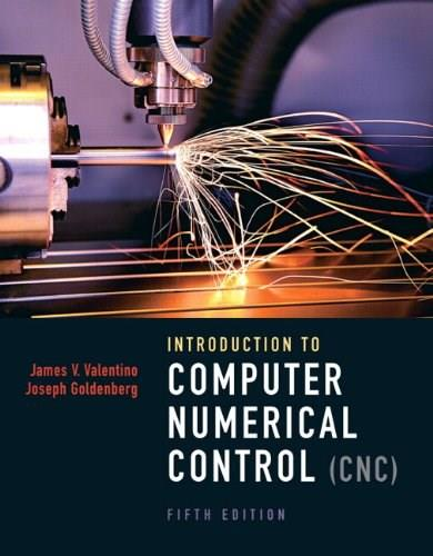 Introduction to Computer Numerical Control (5th Edition) 5 w/CD 9780132176033